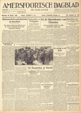 Amersfoortsch Dagblad / De Eemlander 1940-10-30