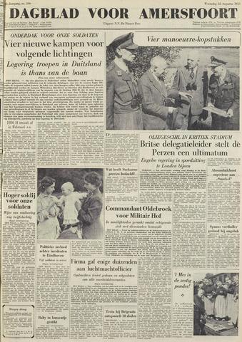 Dagblad voor Amersfoort 1951-08-22