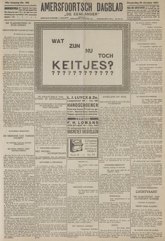 Amersfoortsch Dagblad / De Eemlander 1927-10-26