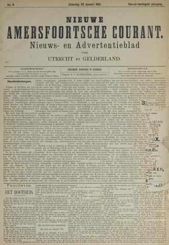 Nieuwe Amersfoortsche Courant 1892-01-30