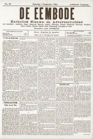 De Eembode 1904-09-03