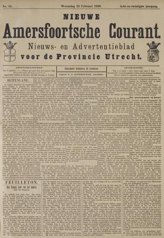 Nieuwe Amersfoortsche Courant 1899-02-22