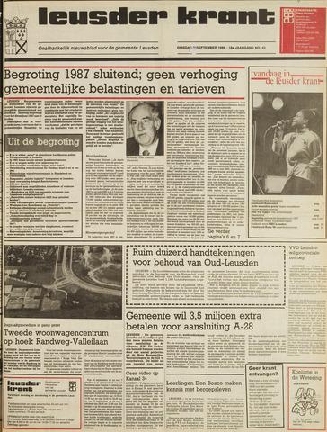 Leusder Krant 1986-09-23