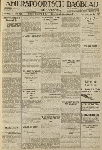 Amersfoortsch Dagblad / De Eemlander 1932-04-18