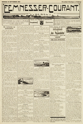 Eemnesser Courant 1924-09-16