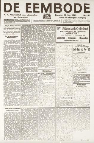 De Eembode 1923-11-20