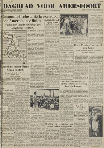 Dagblad voor Amersfoort 1950-07-06