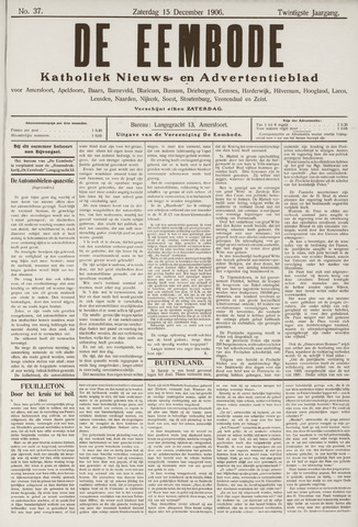 De Eembode 1906-12-15