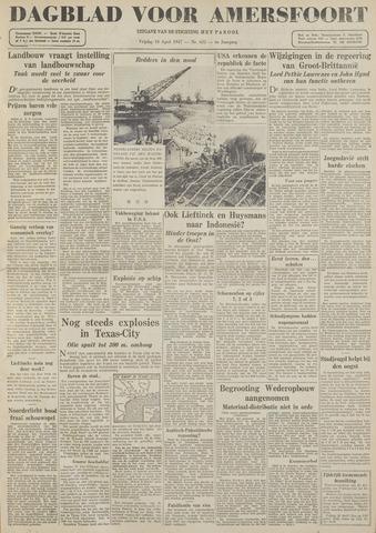 Dagblad voor Amersfoort 1947-04-18