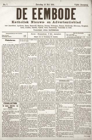 De Eembode 1891-05-16