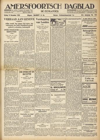 Amersfoortsch Dagblad / De Eemlander 1935-12-13