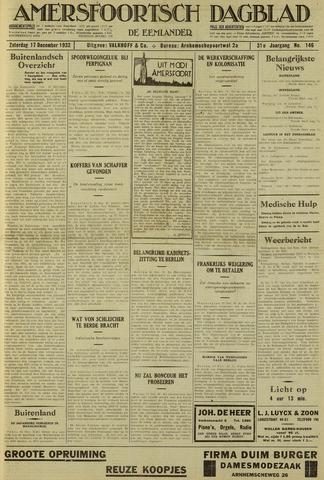 Amersfoortsch Dagblad / De Eemlander 1932-12-17