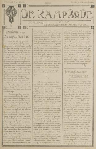 De Kampbode 1917-08-26
