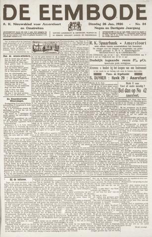 De Eembode 1926-01-26