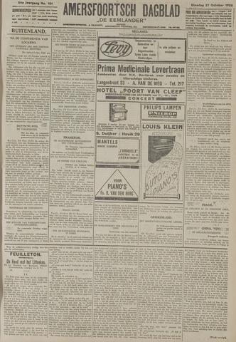 Amersfoortsch Dagblad / De Eemlander 1925-10-27