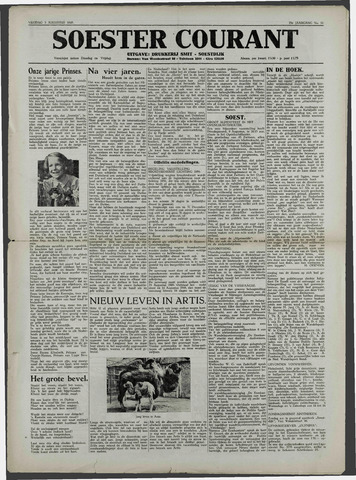 Soester Courant 1949-08-05
