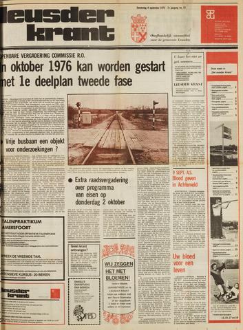 Leusder Krant 1975-09-04