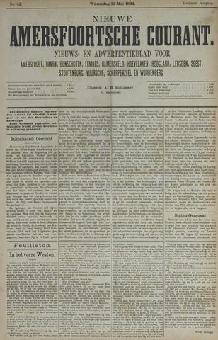 Nieuwe Amersfoortsche Courant 1884-05-21