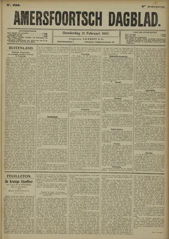 Amersfoortsch Dagblad 1907-02-21