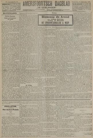 Amersfoortsch Dagblad / De Eemlander 1918-09-19