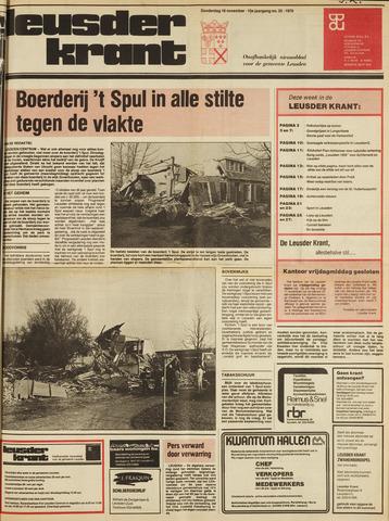 Leusder Krant 1978-11-16