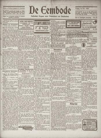 De Eembode 1932-10-14