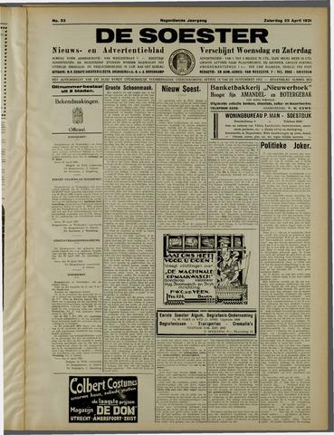 De Soester 1931-04-25