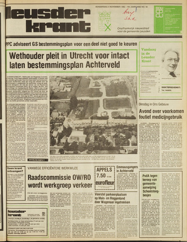 Leusder Krant 1982-11-04
