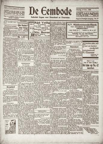 De Eembode 1935-11-19
