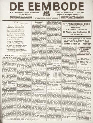 De Eembode 1926-03-30