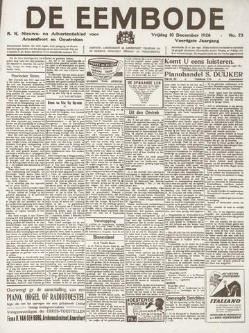De Eembode 1926-12-10