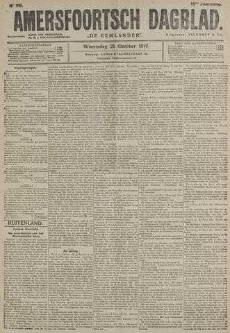 Amersfoortsch Dagblad / De Eemlander 1916-10-25