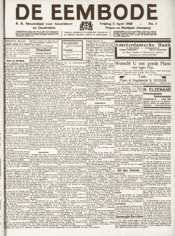 De Eembode 1925-04-03