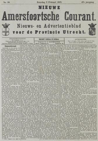 Nieuwe Amersfoortsche Courant 1918-02-02