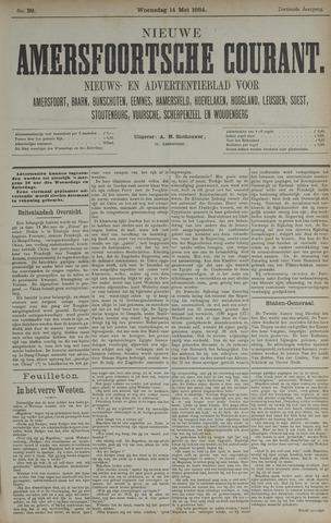 Nieuwe Amersfoortsche Courant 1884-05-14