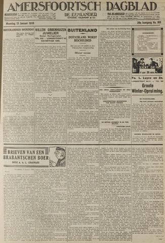 Amersfoortsch Dagblad / De Eemlander 1930-01-13