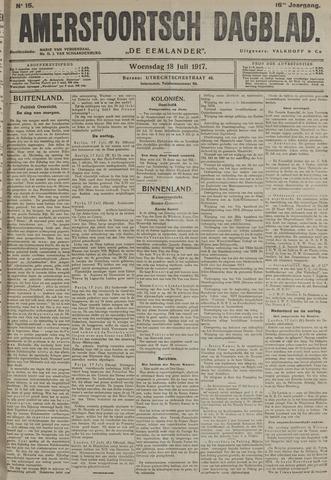 Amersfoortsch Dagblad / De Eemlander 1917-07-18