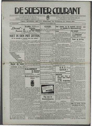 Soester Courant 1940-10-25