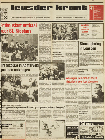 Leusder Krant 1985-11-26