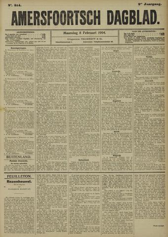 Amersfoortsch Dagblad 1904-02-08