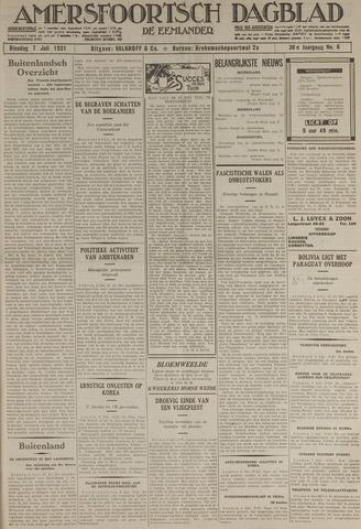 Amersfoortsch Dagblad / De Eemlander 1931-07-07