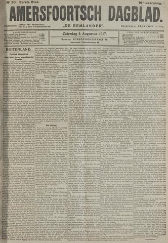 Amersfoortsch Dagblad / De Eemlander 1917-08-04