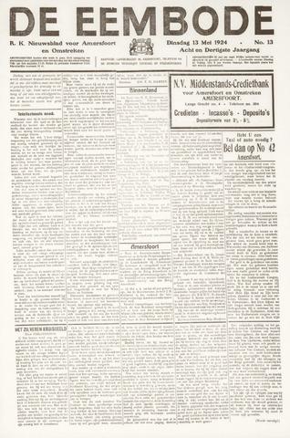 De Eembode 1924-05-13