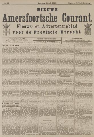 Nieuwe Amersfoortsche Courant 1910-07-23