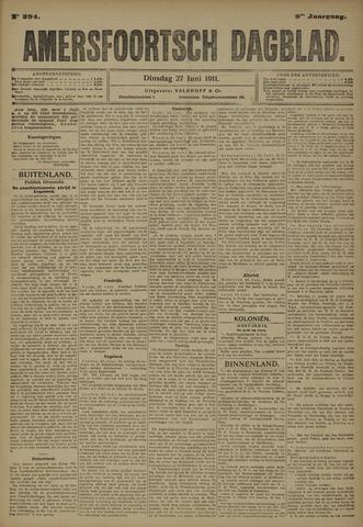 Amersfoortsch Dagblad 1911-06-27
