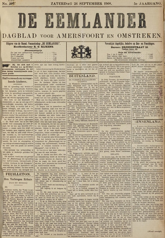 De Eemlander 1908-09-26