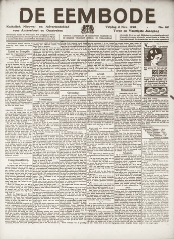 De Eembode 1928-11-02