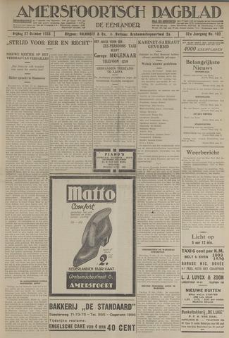 Amersfoortsch Dagblad / De Eemlander 1933-10-27