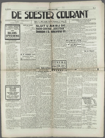 Soester Courant 1929-01-25