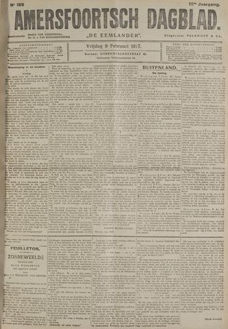 Amersfoortsch Dagblad / De Eemlander 1917-02-09